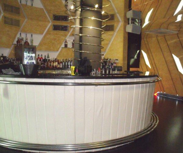Професионален баров модул с декорация Кожа