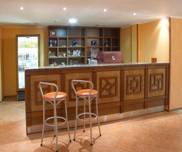 Професионален баров модул с декорация Ратан