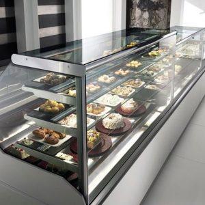 Сладкарски хладилни витрини