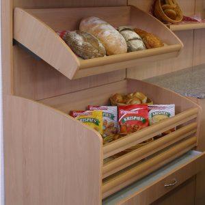 Стелажи за хляб и хлебни изделия