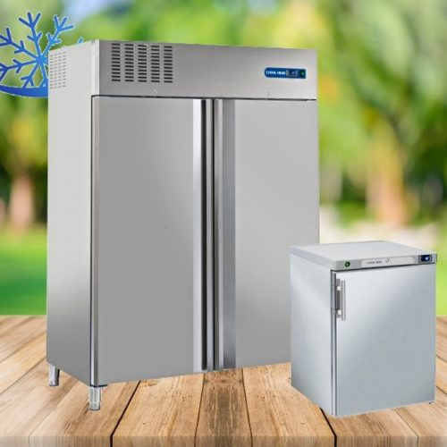 Вертикални хладилни шкафове GN 2/1